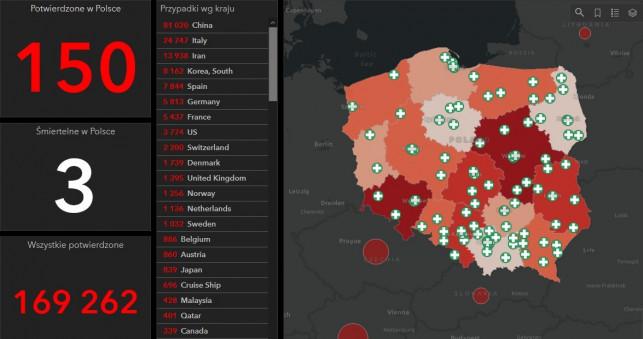 Jest polska mapa koronawirusa. Ilu zakażonych i gdzie są leczeni? - Zdjęcie główne