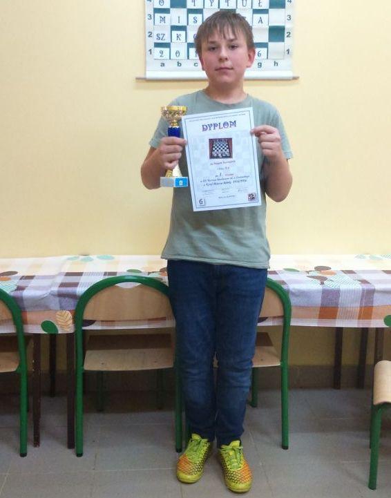 Kacper Szerszeń został szachowym mistrzem - Zdjęcie główne