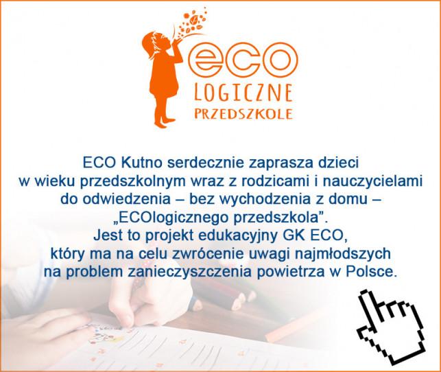 """""""ECOlogiczne Przedszkole"""" zaprasza najmłodszych  - Zdjęcie główne"""