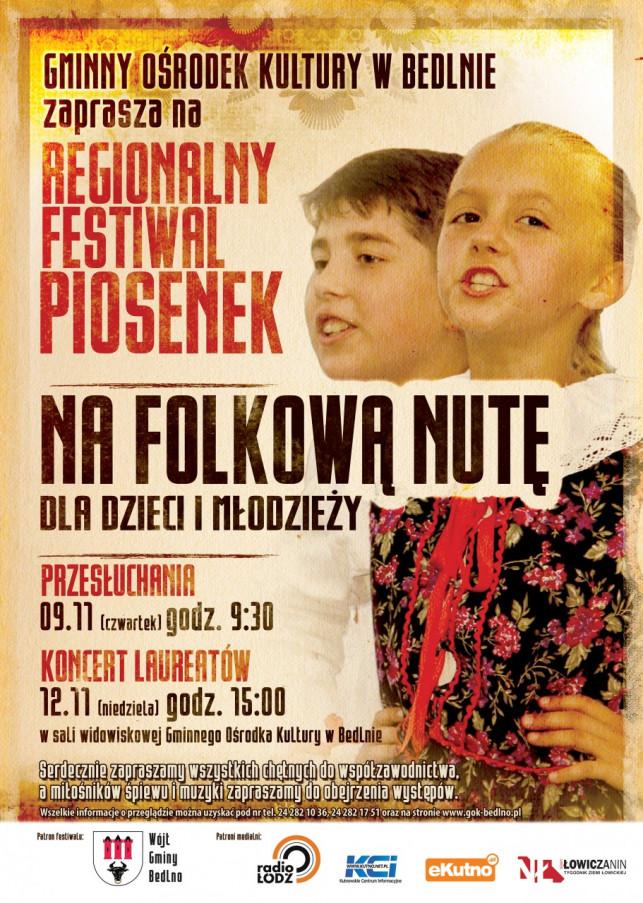 Na folkową nutę - koncert laureatów - Zdjęcie główne
