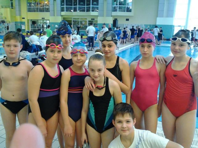 """Aktywna sobota pływaków UKS """"Delfinek"""" - Zdjęcie główne"""