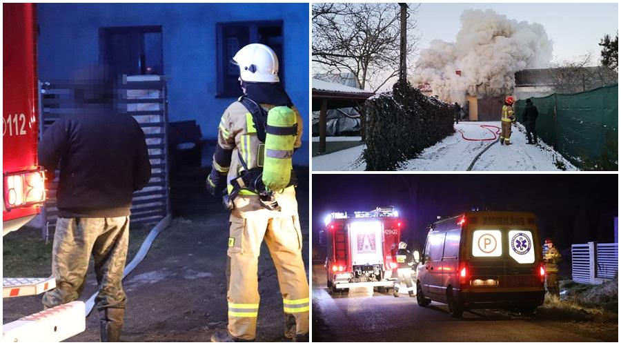 [ZDJĘCIA] Zima w strażackich statystykach. Jak to wyglądało w powiecie kutnowskim? - Zdjęcie główne