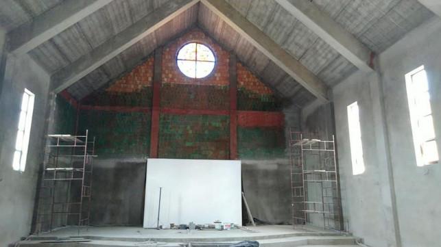 [ZDJĘCIA] Budowa kościoła w Kutnie wstrzymana! ''Chodzi o bezpieczeństwo pracowników'' - Zdjęcie główne