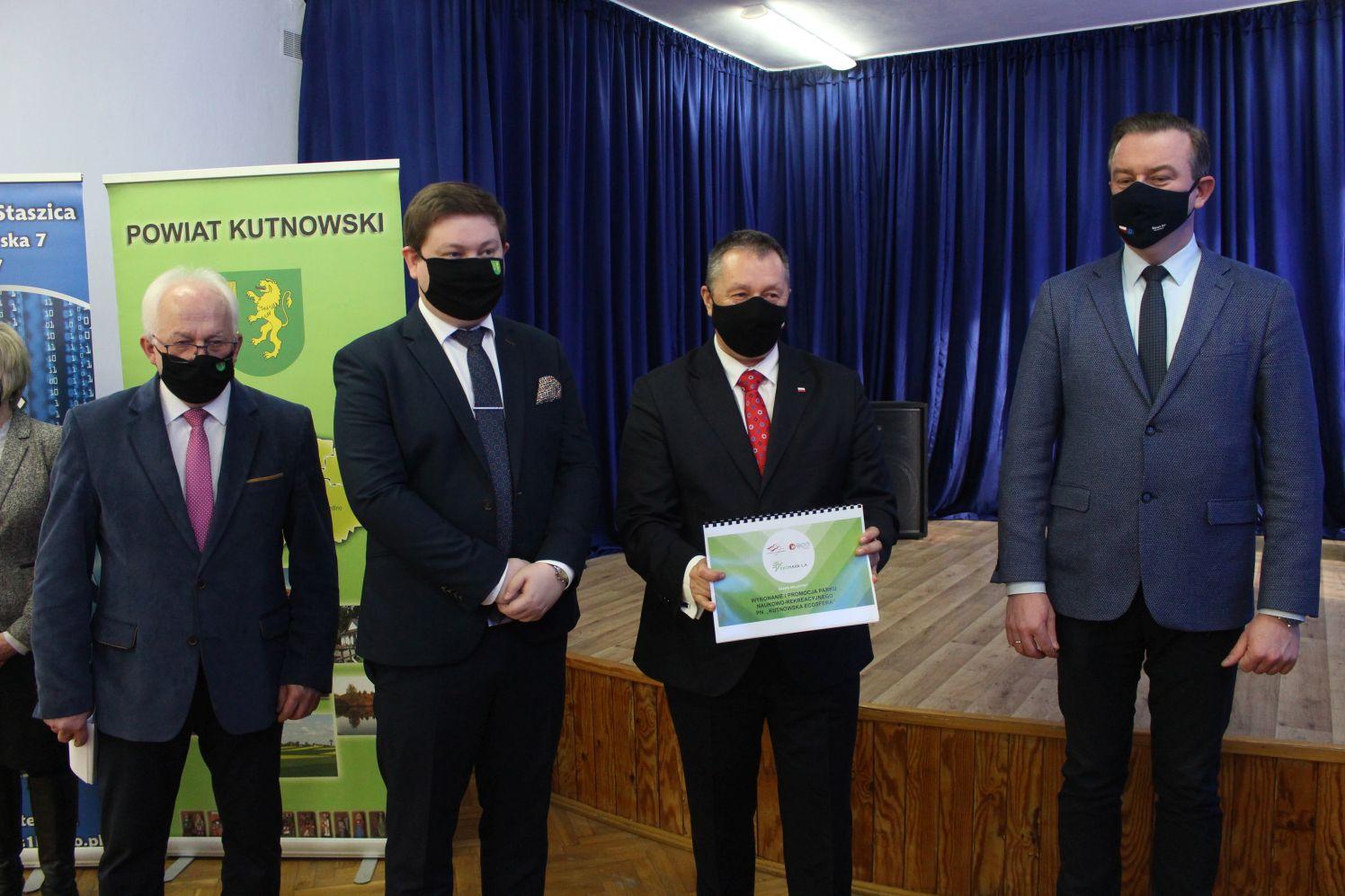 [FOTO] Konferencja starosty i kuratora oświaty. W Kutnie powstanie park za 20 milionów złotych? - Zdjęcie główne