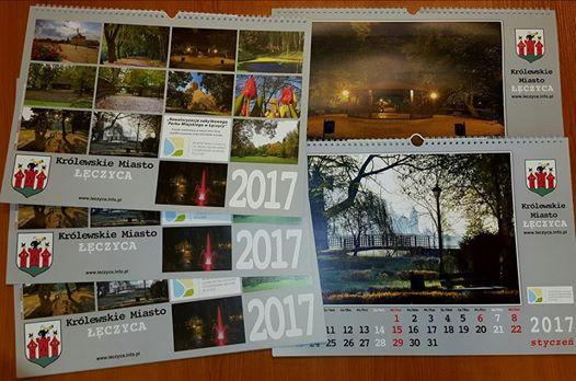 Kalendarze Miejskie na 2017 rok już są do odebrania - Zdjęcie główne