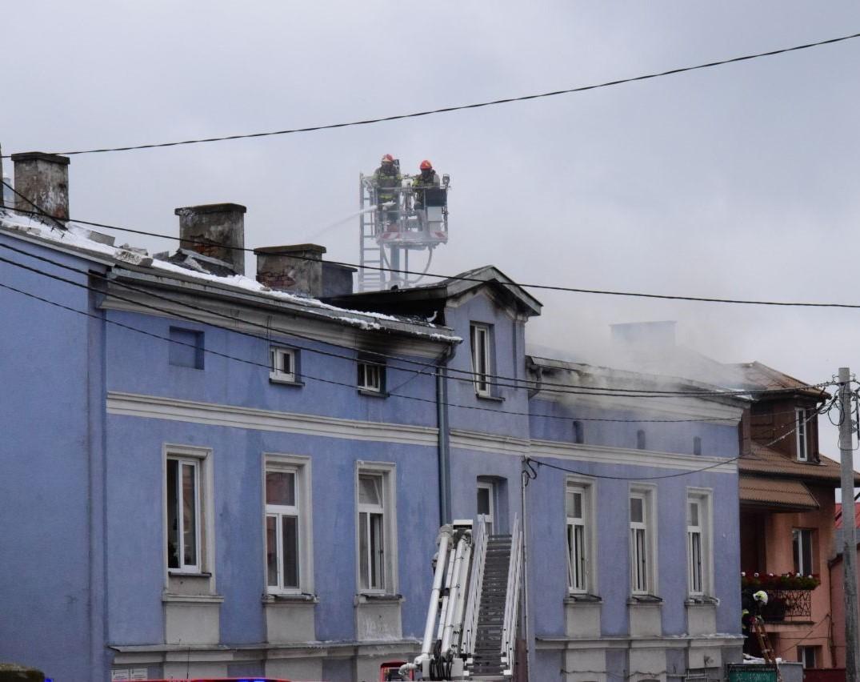 Wszystkim poszkodowanym w wyniku pożaru kamienicy zapewniono lokale - Zdjęcie główne