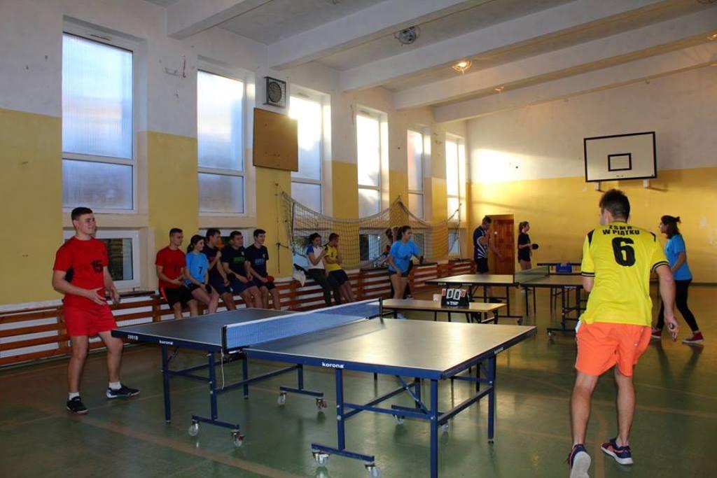 Drużynowe Mistrzostwa Powiatu Łęczyckiego w Tenisie Stołowym - Zdjęcie główne