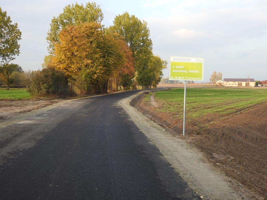 Zakończono przebudowę drogi gminnej w Leźnicy Małej - Zdjęcie główne