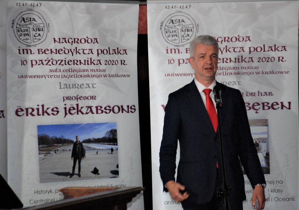[WIDEO] W Krakowie wręczono Nagrody im. Benedykta Polaka - Zdjęcie główne
