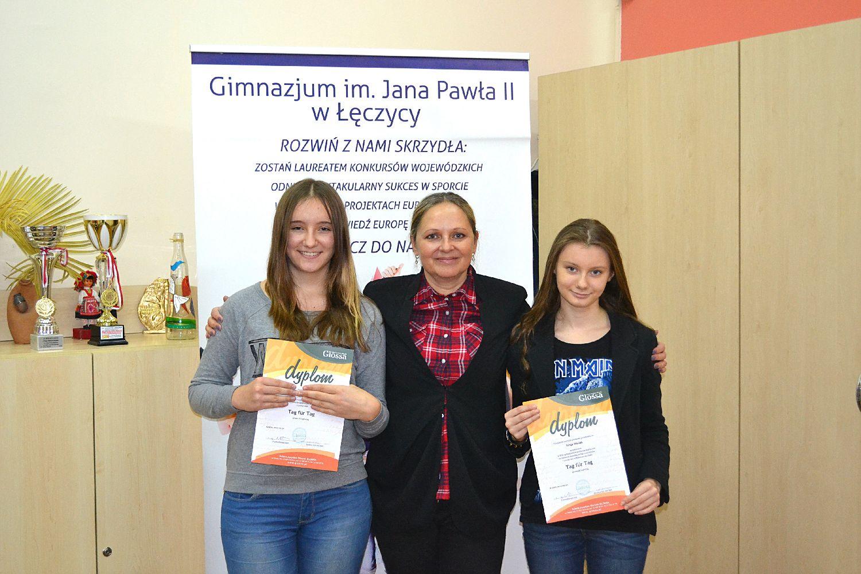 Finalistki VIII Ogólnopolskiego Konkursu Języka Niemieckiego Tag für Tag  - Zdjęcie główne
