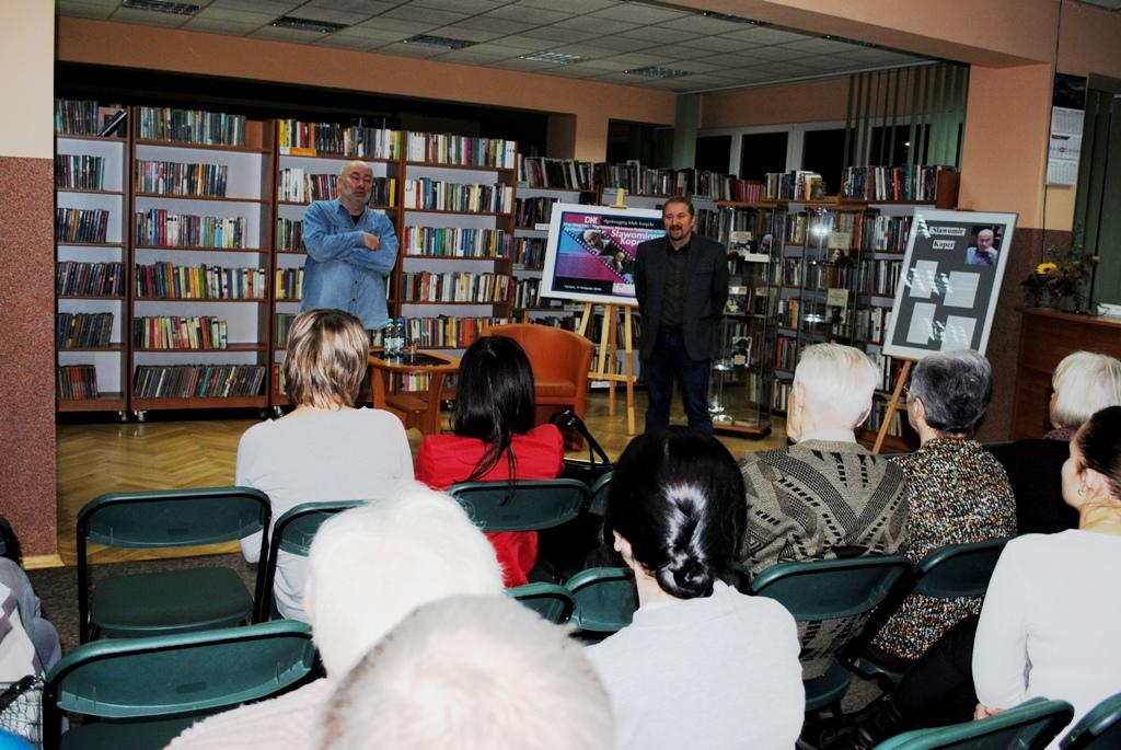 Sławomir Koper gościł w bibliotece - Zdjęcie główne