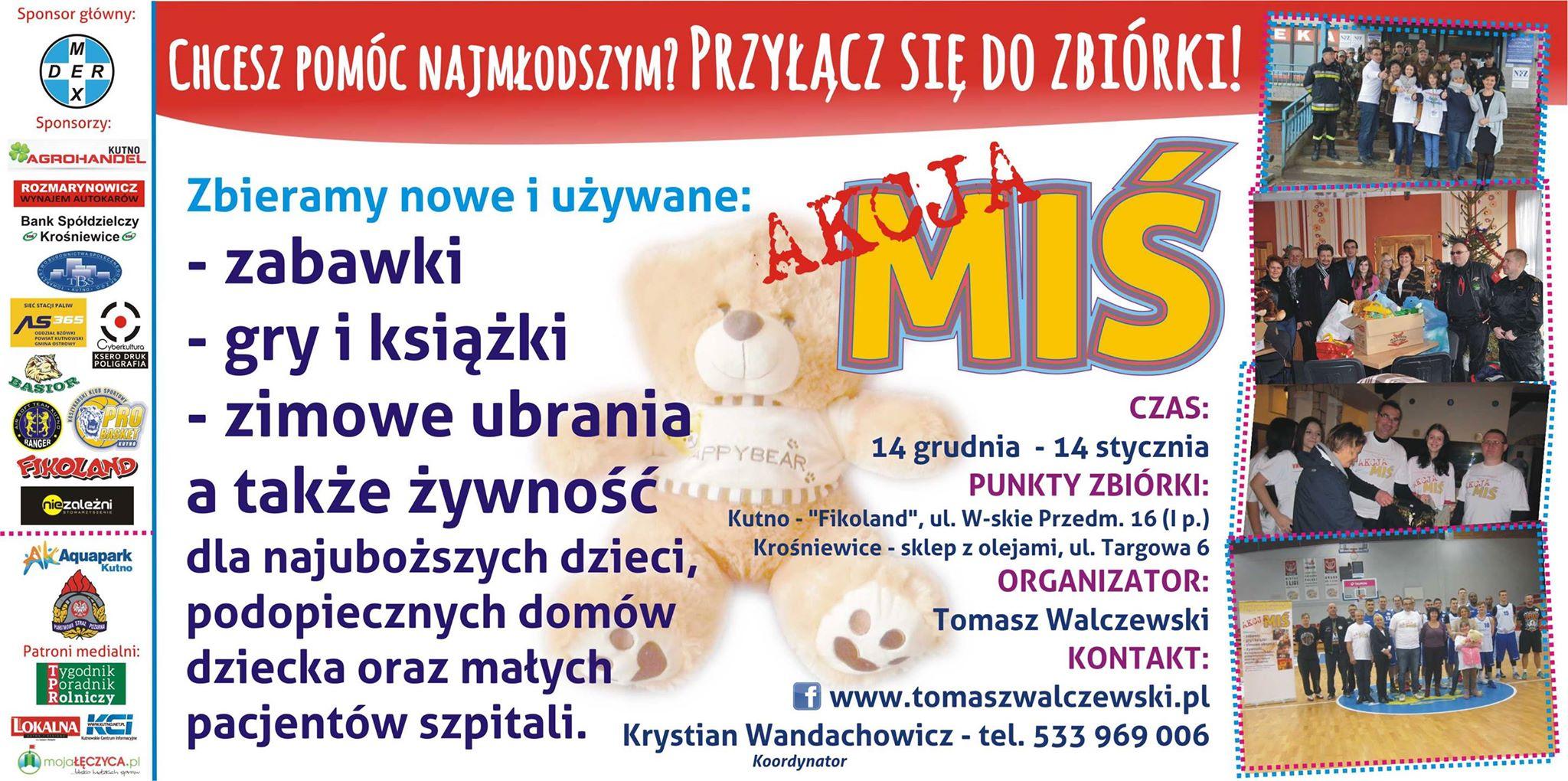 """W Łęczycy już wkrótce ruszy """"Akcja MIŚ""""! - Zdjęcie główne"""