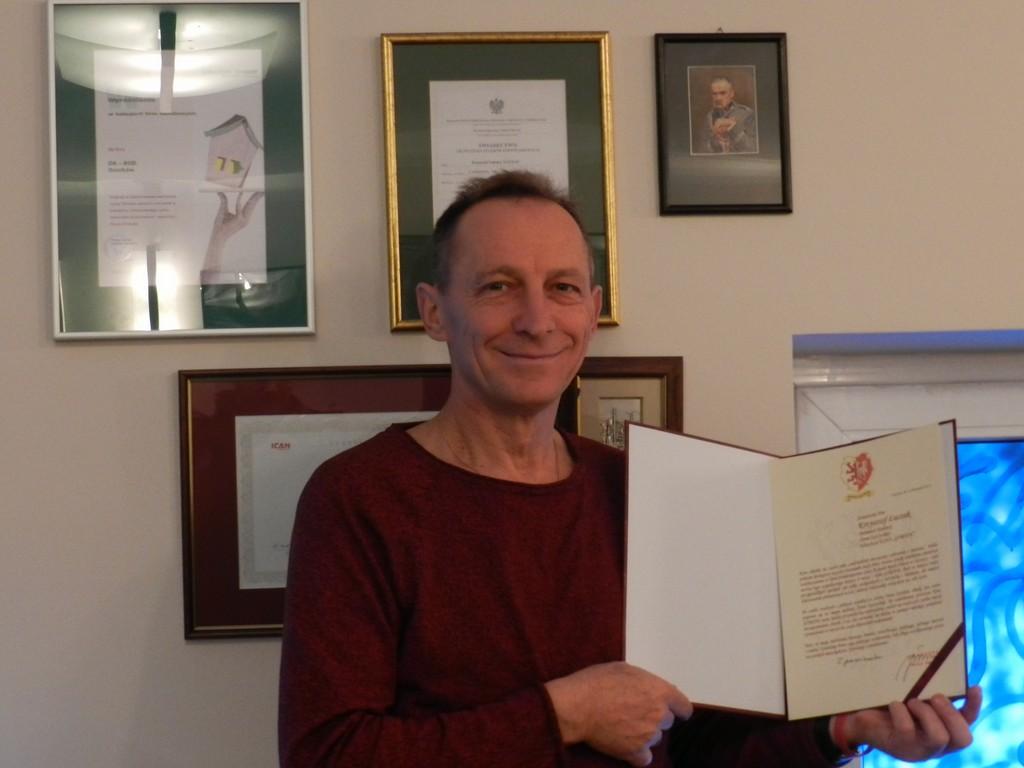 Ludzie listy piszą… Krzysztof Łuczak zbiera gratulacje - Zdjęcie główne