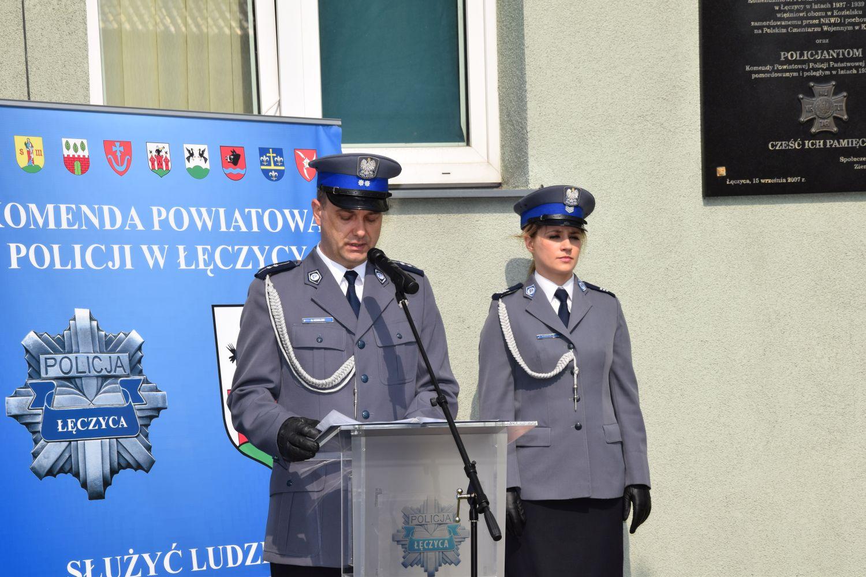 [ZDJĘCIA] Policjanci uczcili rocznicę zbrodni katyńskiej - Zdjęcie główne