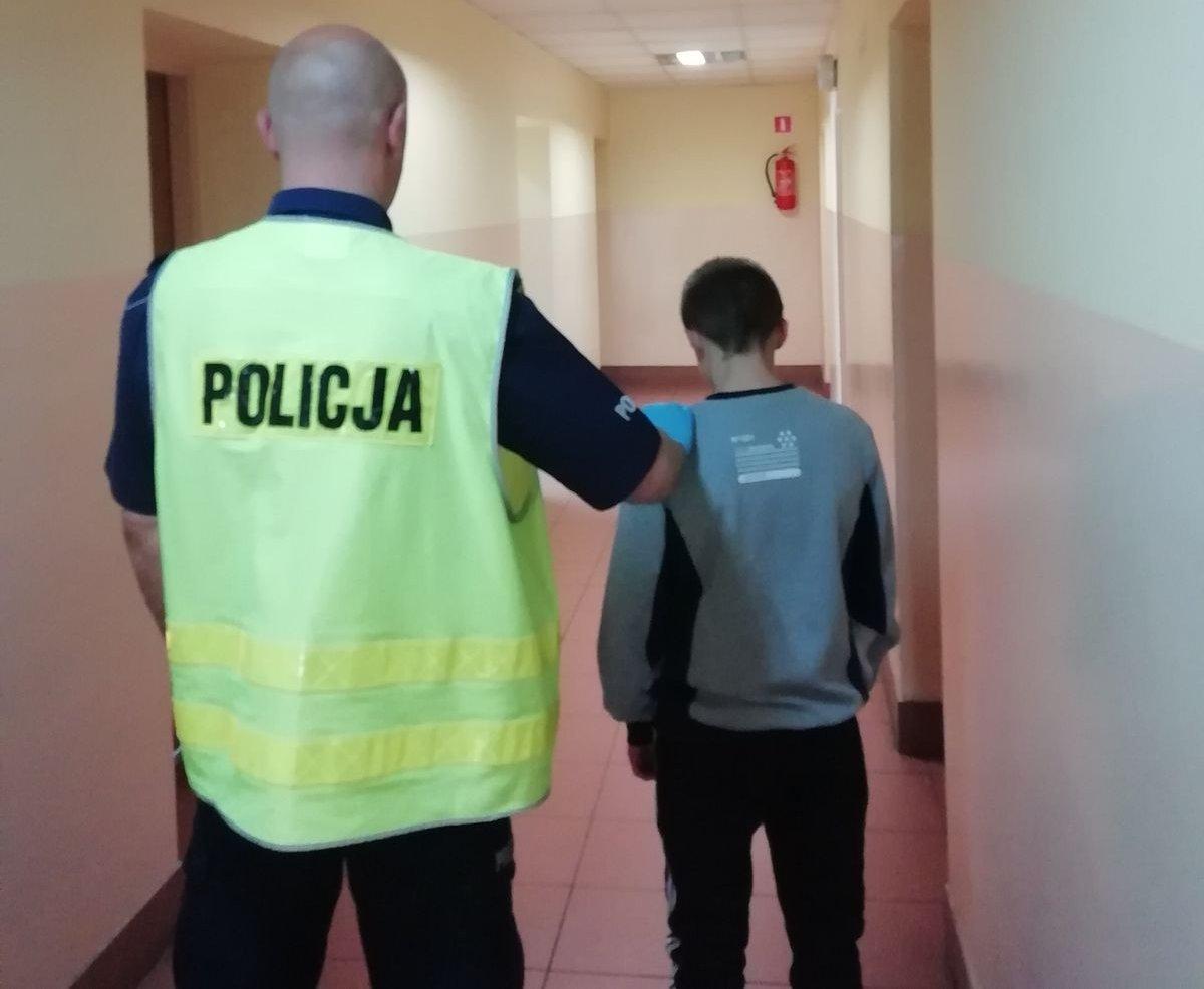15-latek okradł kuriera i wpadł z narkotykami - Zdjęcie główne