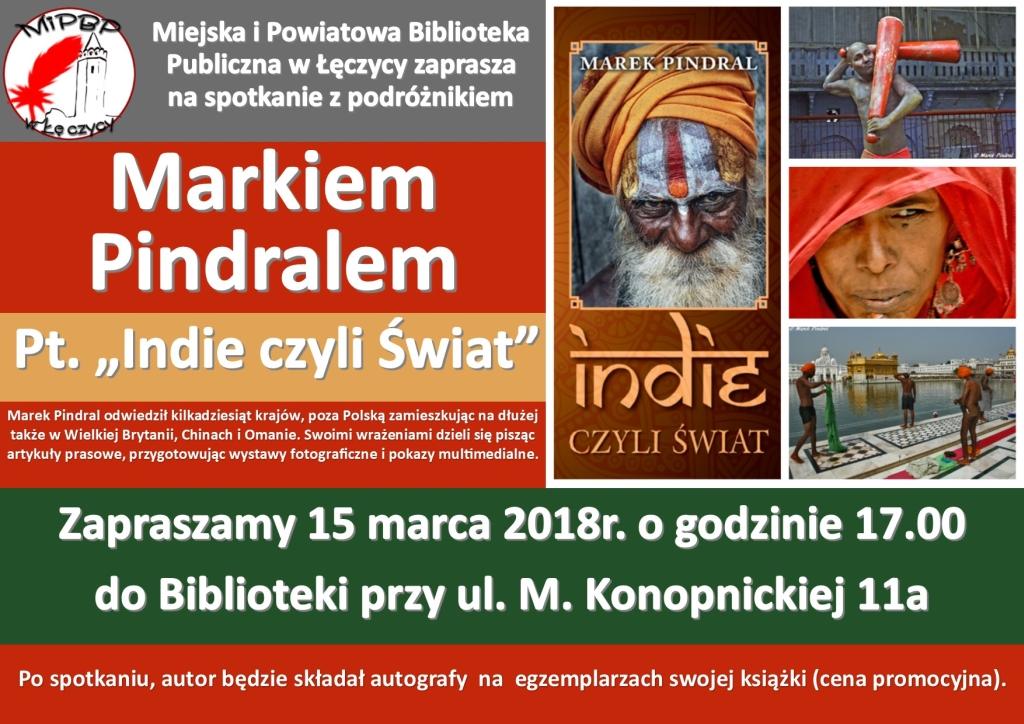 """""""Indie, czyli świat"""" – spotkanie z Markiem Pindralem - Zdjęcie główne"""