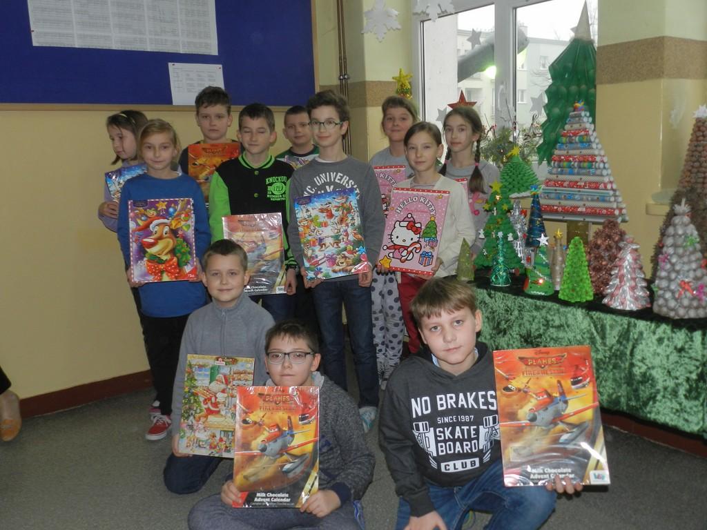 Dzieci przygotowały świąteczne choinki - Zdjęcie główne