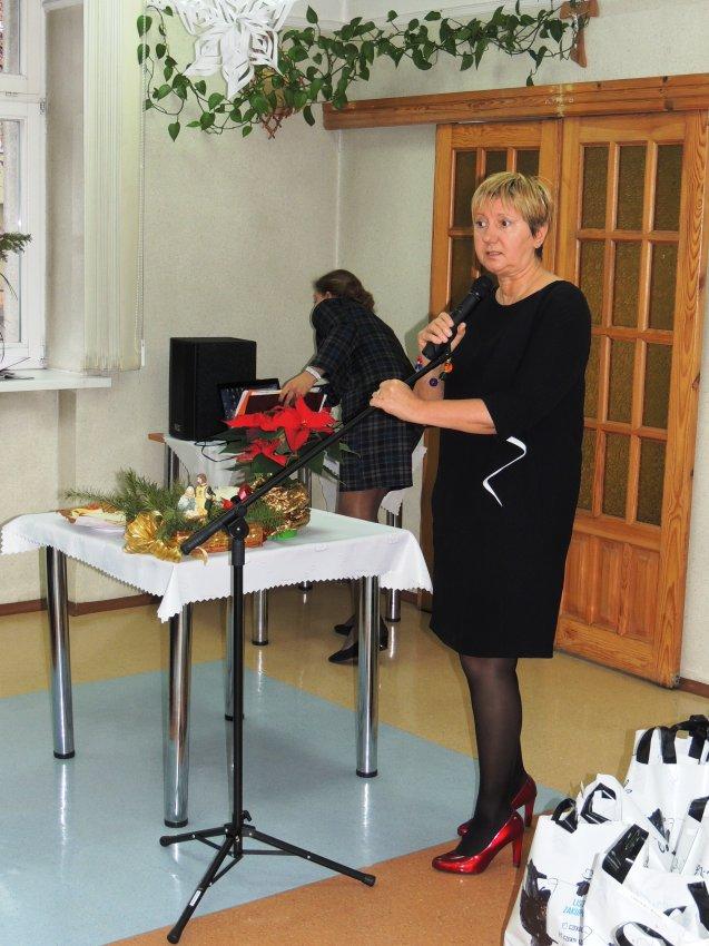 Spotkanie opłatkowe w DPS w Łęczycy - Zdjęcie główne
