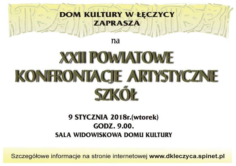 XXII Powiatowe Konfrontacje Artystyczne Szkół - Zdjęcie główne