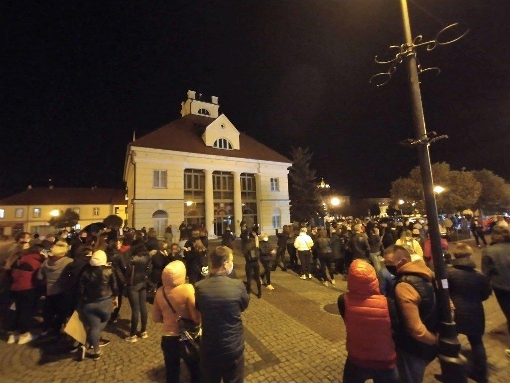 Protest ws. aborcji również i w Łęczycy - Zdjęcie główne