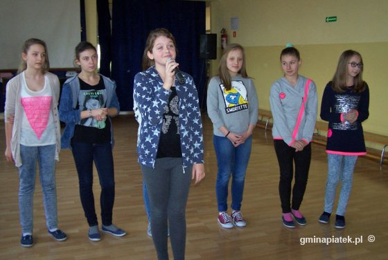 Wybory do Młodzieżowej Rady Gminy w Szkole Podstawowej w Piątku - Zdjęcie główne