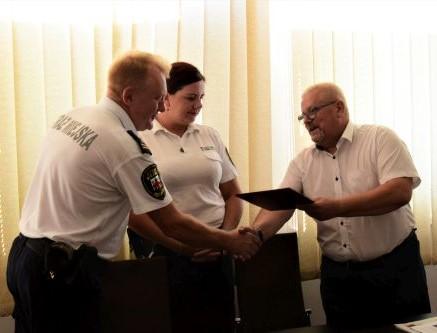 Życzenia z okazji Dnia Straży Miejskiej - Zdjęcie główne