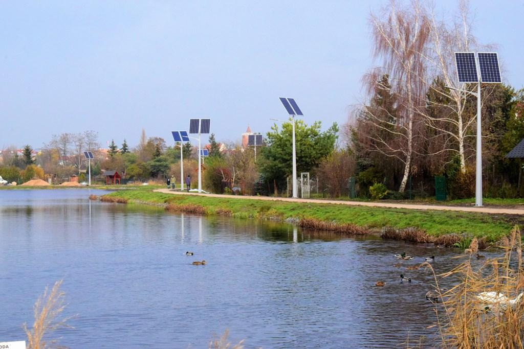 Prace wykończeniowe nad zalewami - Zdjęcie główne