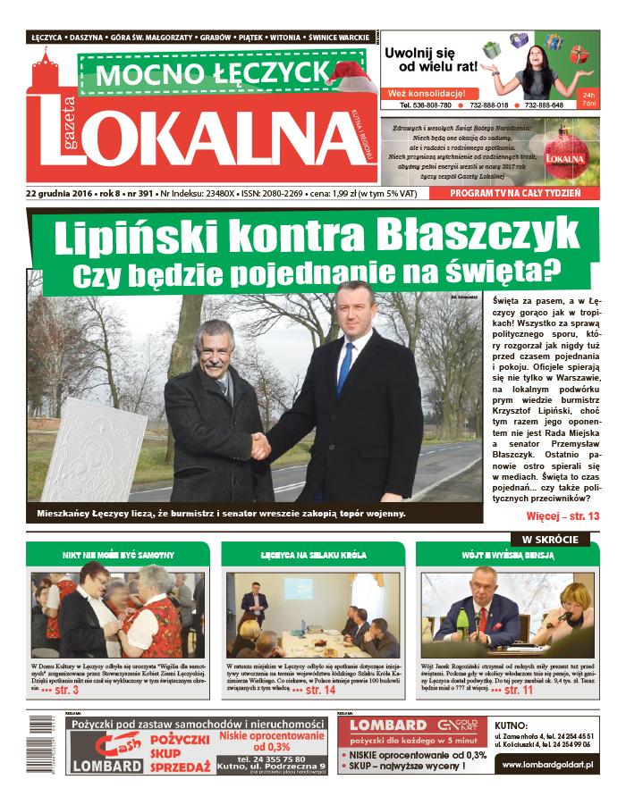 Czytaj nową Gazetę Lokalną! - Zdjęcie główne