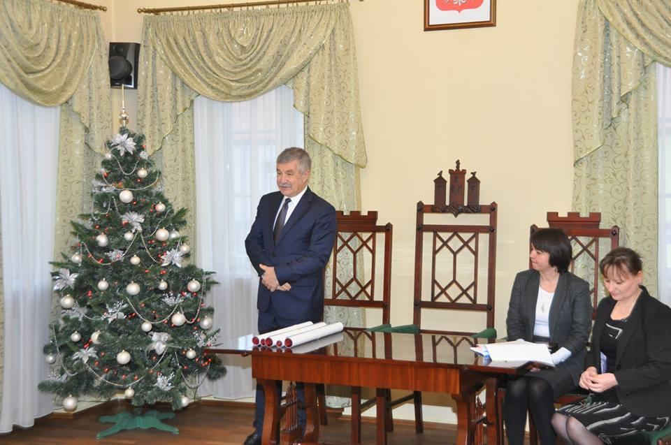Spotkanie z łęczyckimi przedsiębiorcami - Zdjęcie główne