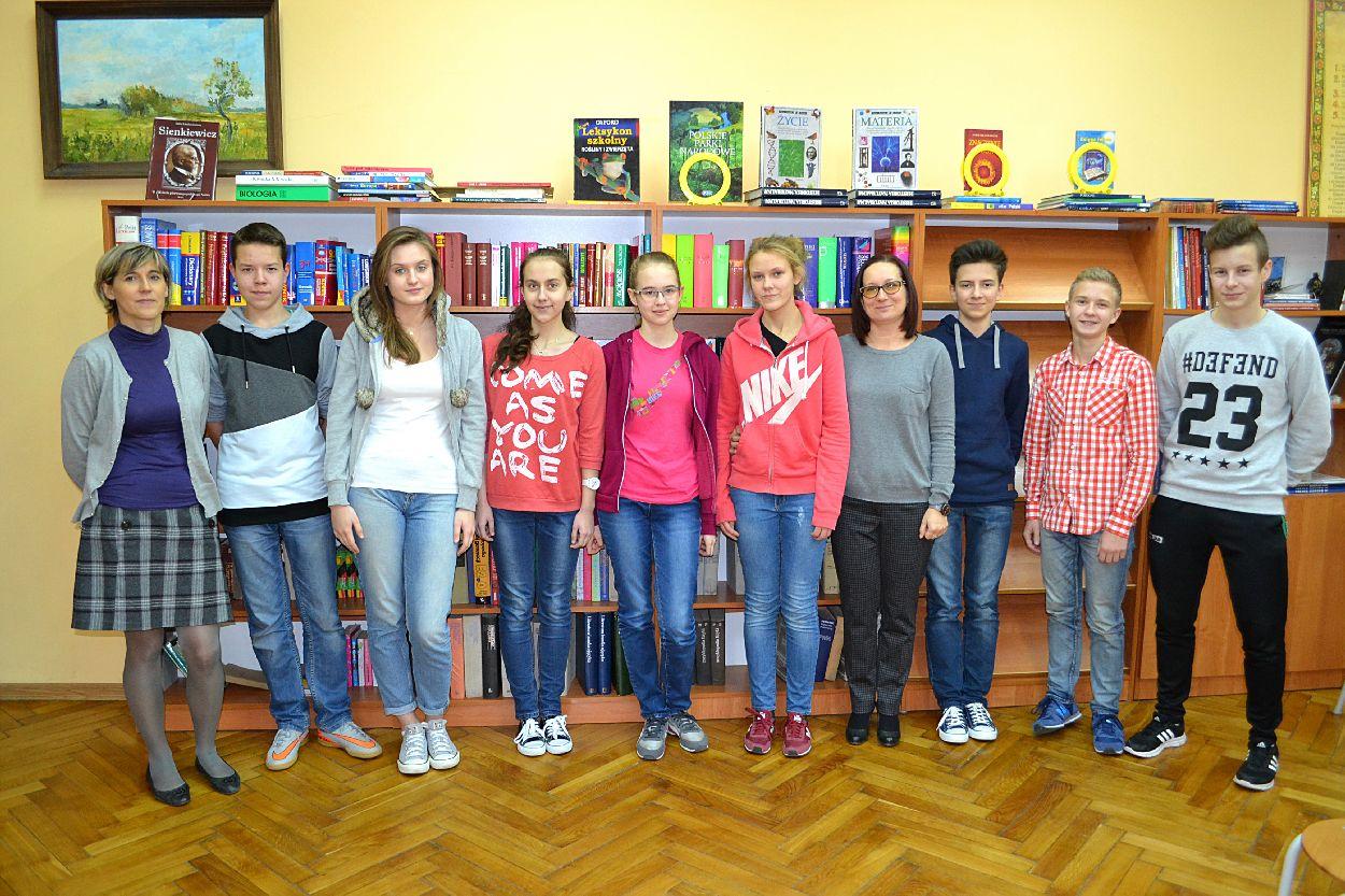Mocna grupa już w drugim etapie Wojewódzkiego Konkursu Historycznego! - Zdjęcie główne