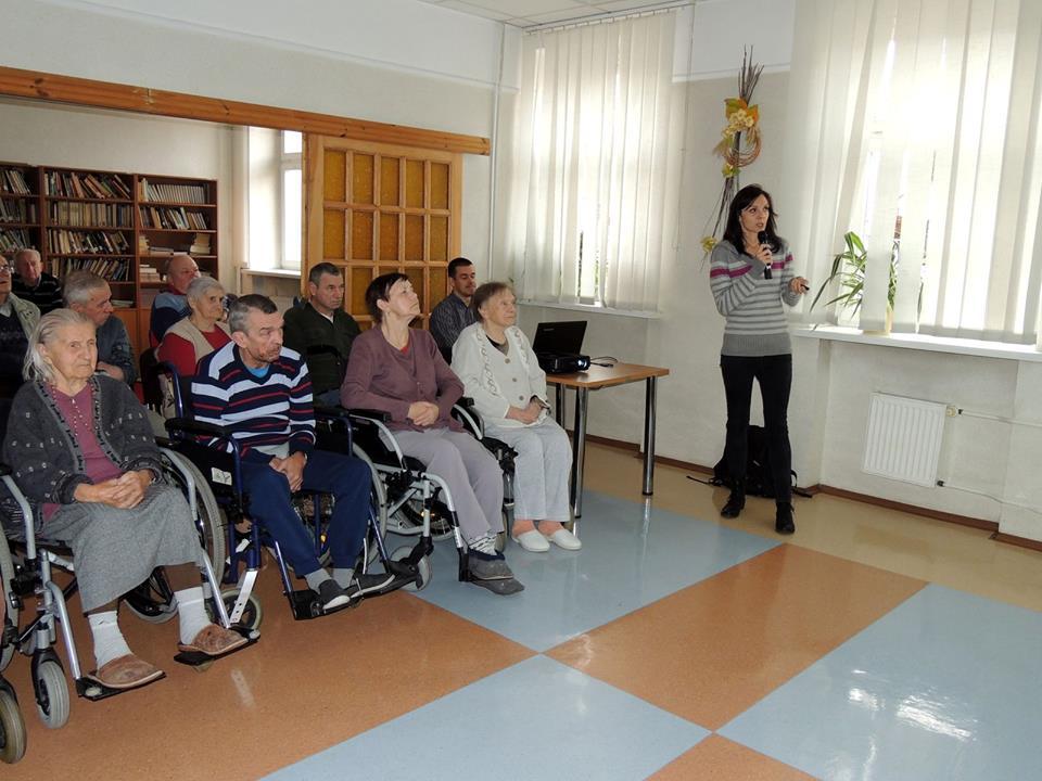 Ostatnie tegoroczne spotkania pracowników Muzeum z pensjonariuszami DPS - Zdjęcie główne