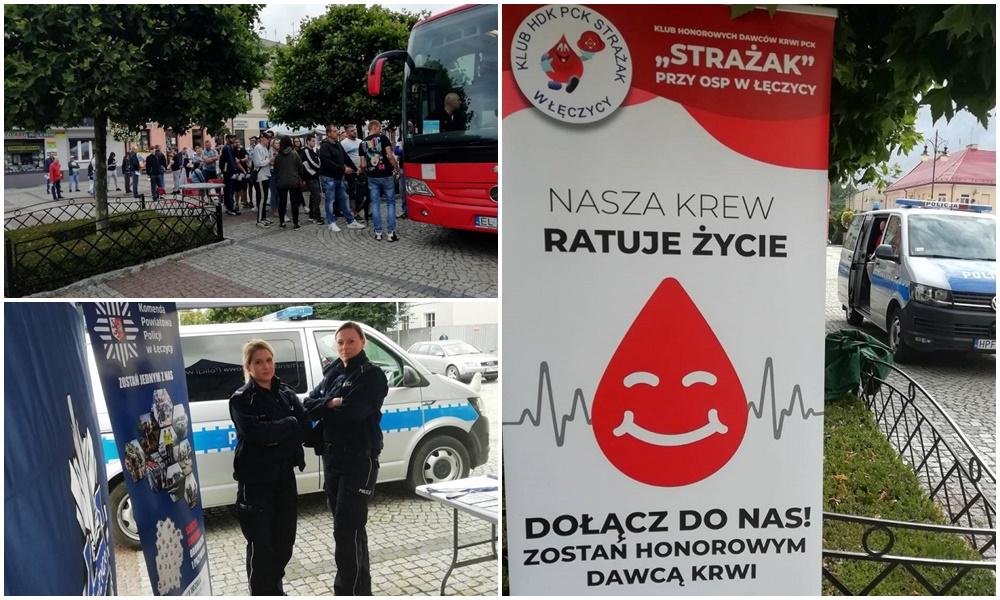 Akcja krwiodawstwa w Łęczycy zakończona sukcesem! Zainteresowanie było wręcz ogromne [ZDJĘCIA] - Zdjęcie główne