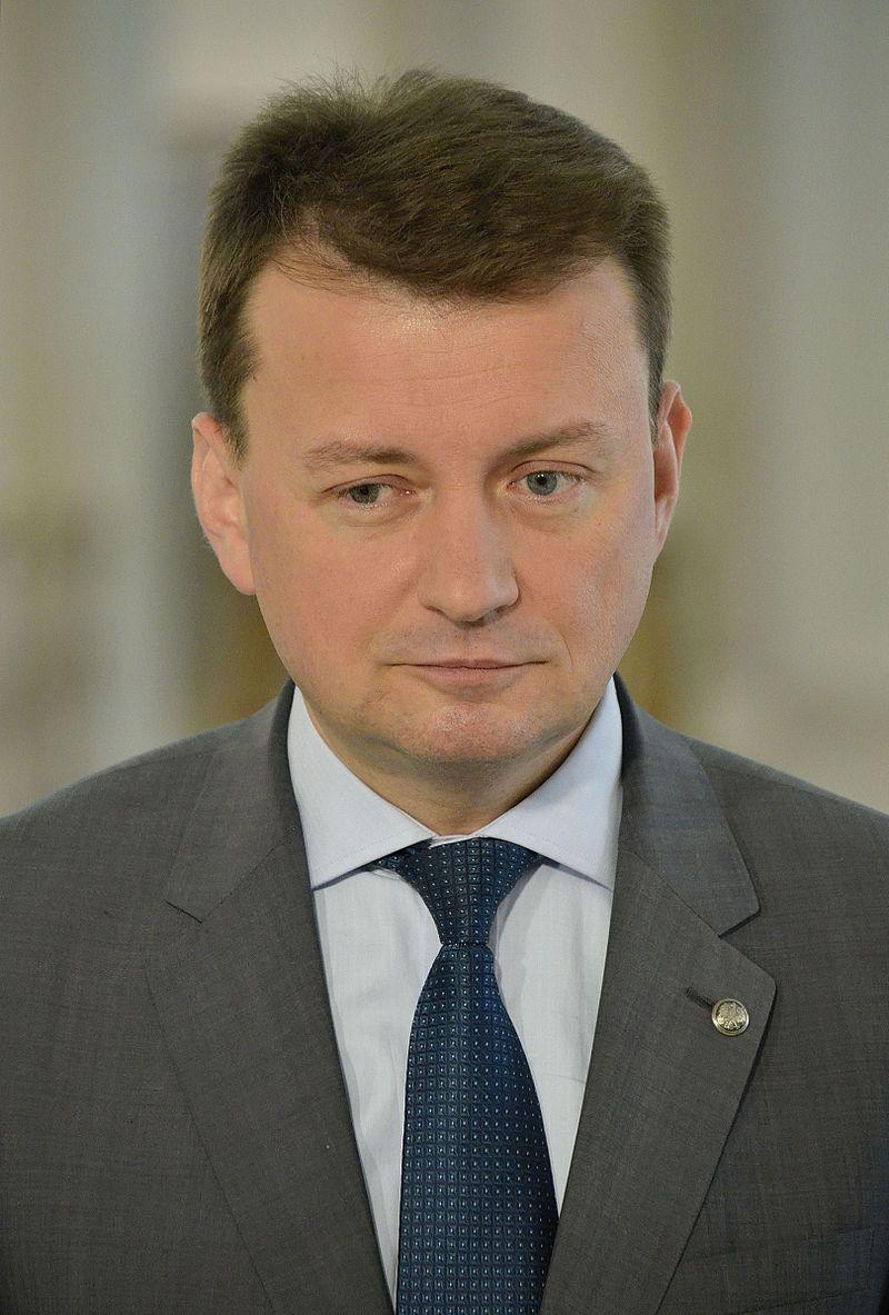 """Minister Mariusz Błaszczak podziękował policjantom za akcję """"Znicz 2016"""" - Zdjęcie główne"""
