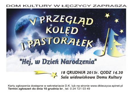 V Przegląd Kolęd i Pastorałek - Zdjęcie główne