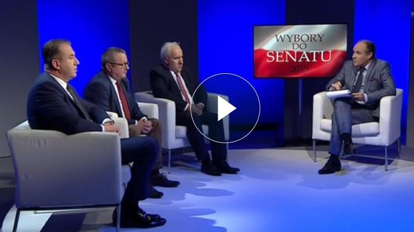 Błaszczyk kontra Debich. Zobacz debatę kandydatów do Senatu - Zdjęcie główne