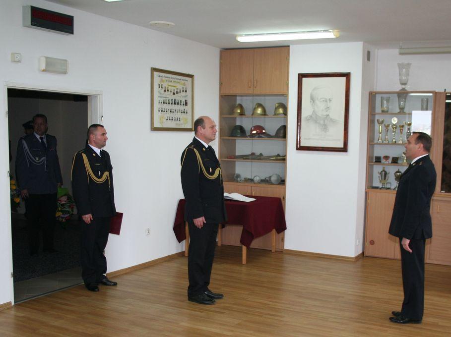 Powołanie Komendanta Powiatowego PSP w Łęczycy [GALERIA] - Zdjęcie główne