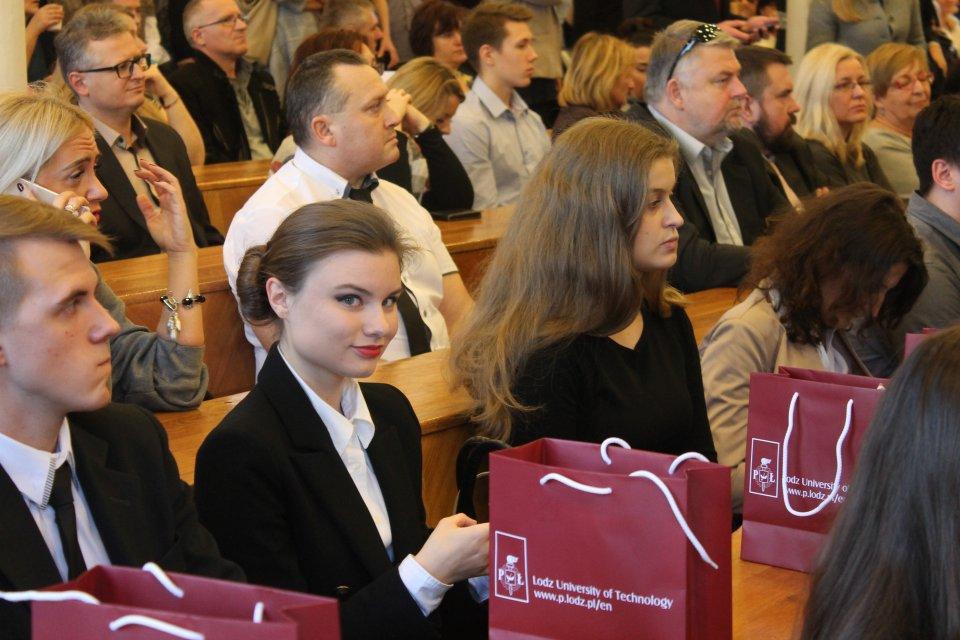 Anna Wasiak na gali stypendystów Prezesa Rady Ministrów - Zdjęcie główne