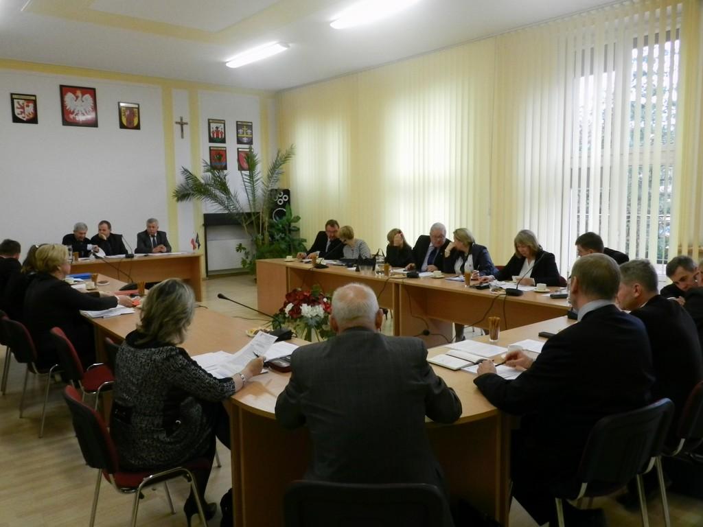 X Sesja Rady Powiatu Łęczyckiego - Zdjęcie główne