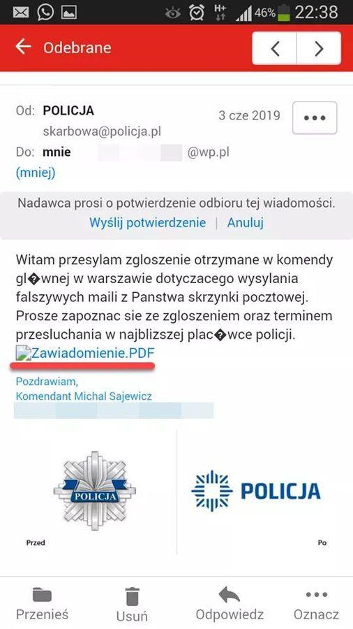 Policja ostrzega: Uważaj na oszustów - Zdjęcie główne