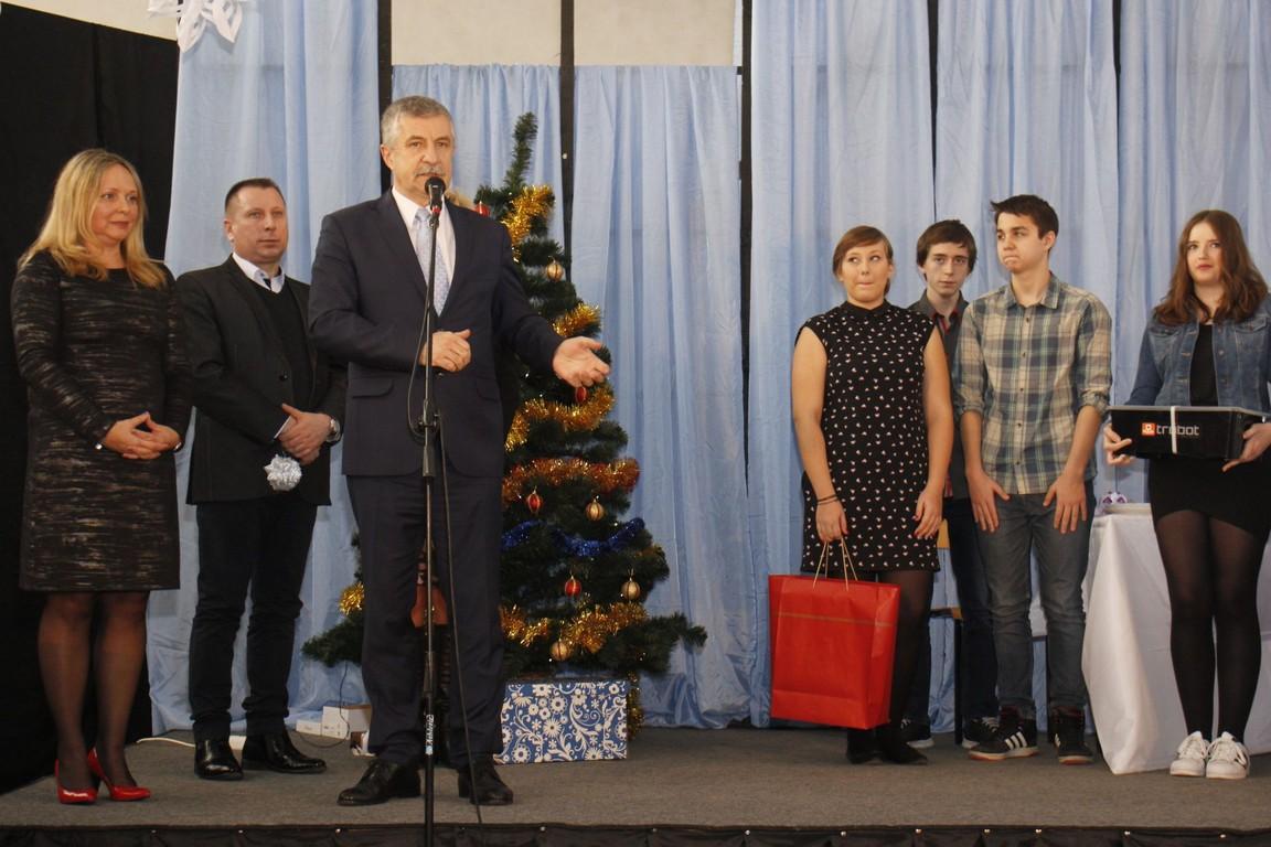 Jasełka w łęczyckim gimnazjum - Zdjęcie główne