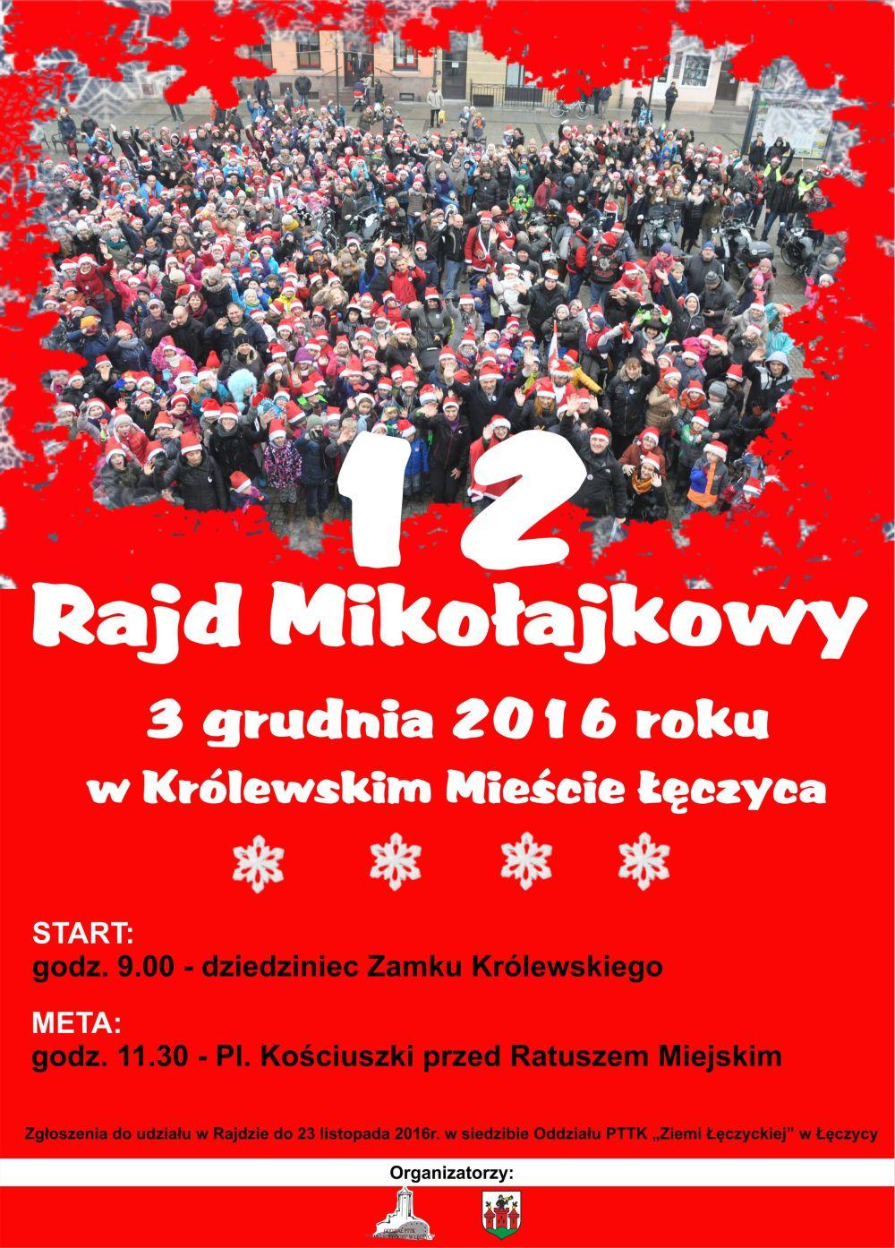 12 Rajd Mikołajkowy - Zdjęcie główne