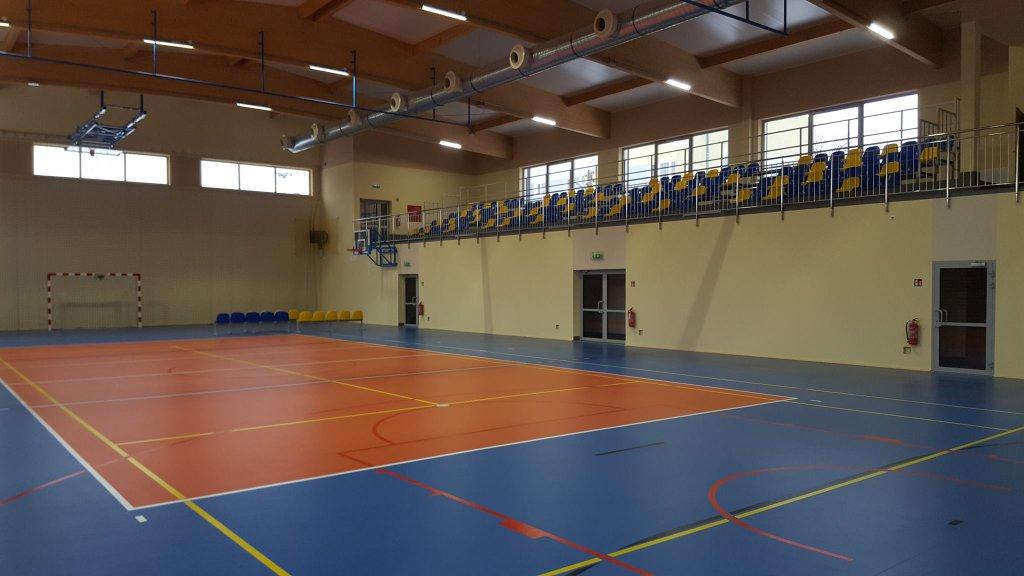 Nowa hala Przy SP 3 już gotowa - Zdjęcie główne