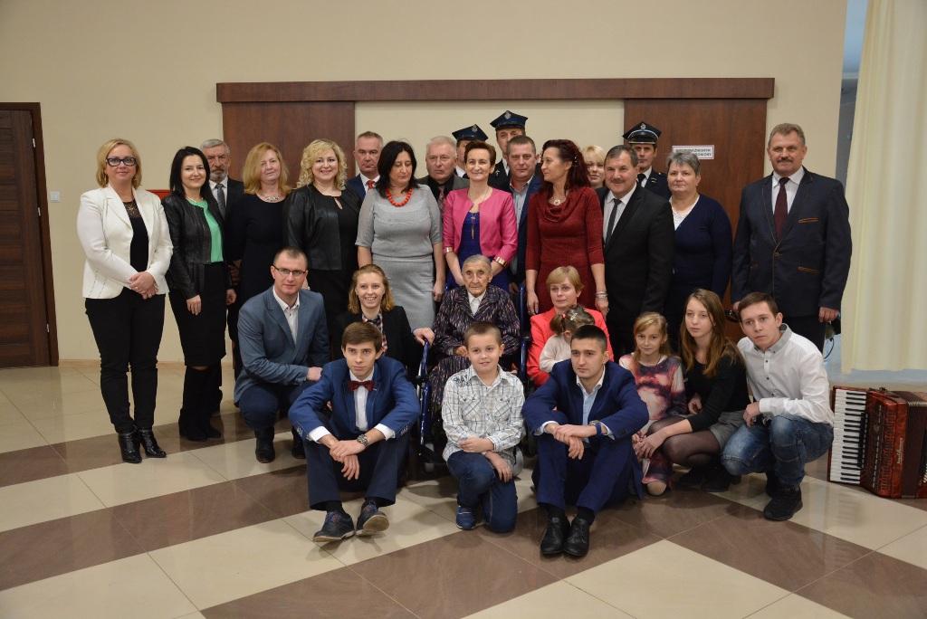 Jubileusz 100-lecia urodzin w gminie Łęczyca [GALERIA] - Zdjęcie główne