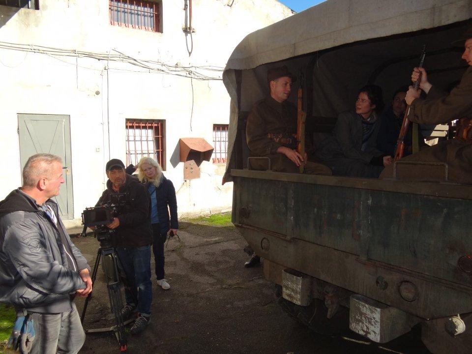 Kolejna ekipa filmowa nagrywa w Łęczycy - Zdjęcie główne