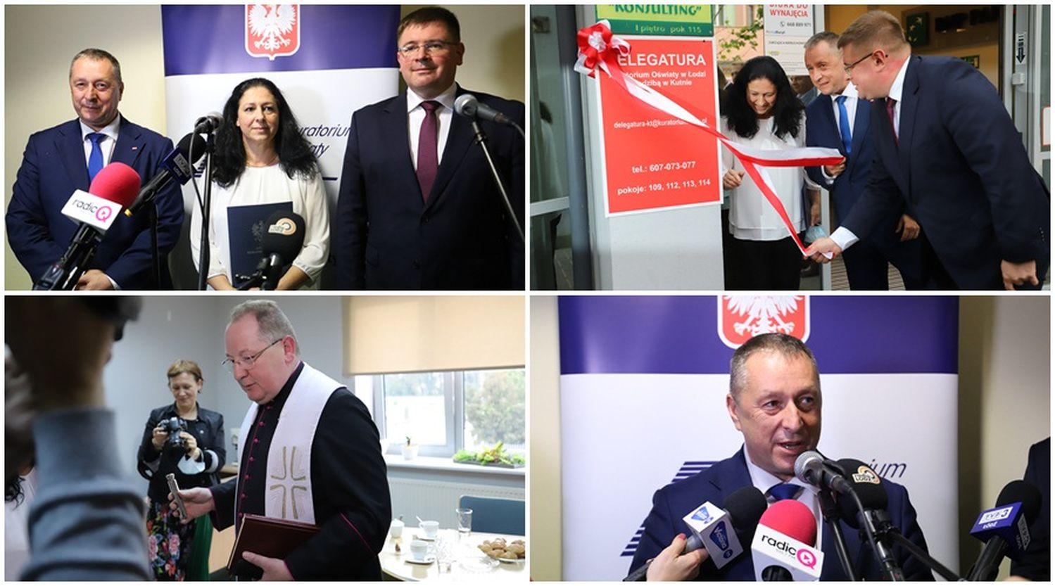 """[ZDJĘCIA] Delegatura Kuratorium Oświaty oficjalnie otwarta: """"To historyczny moment dla powiatu łęczyckiego""""  - Zdjęcie główne"""