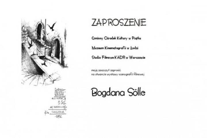 Wystawa scenografii filmowej Bogdana Sölle - Zdjęcie główne