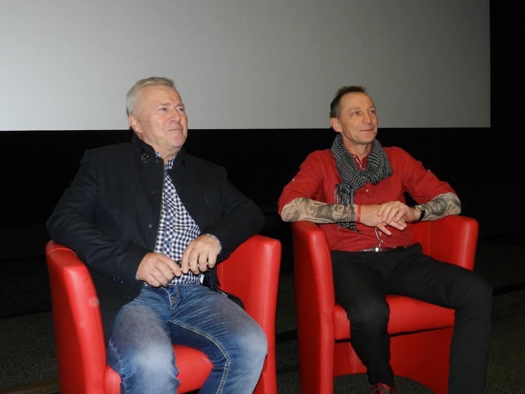 """Specjalna projekcja filmu """"Git"""" z wizytą Włodzimierza Matuszaka w tle - Zdjęcie główne"""