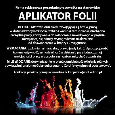 Poszukiwany aplikator folii - Zdjęcie główne