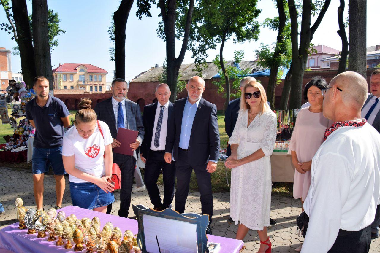 Łęczycka delegacja z wizytą w Włodzimierzu Wołyńskim [ZDJĘCIA] - Zdjęcie główne