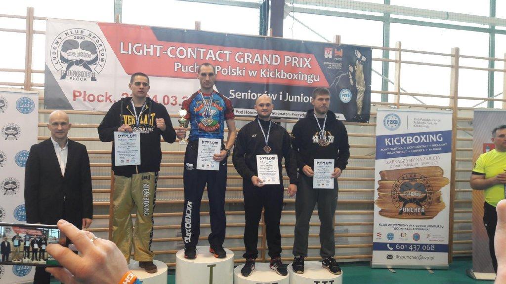 Policjant z Łęczycy na podium Pucharu Polski w kickboxingu - Zdjęcie główne